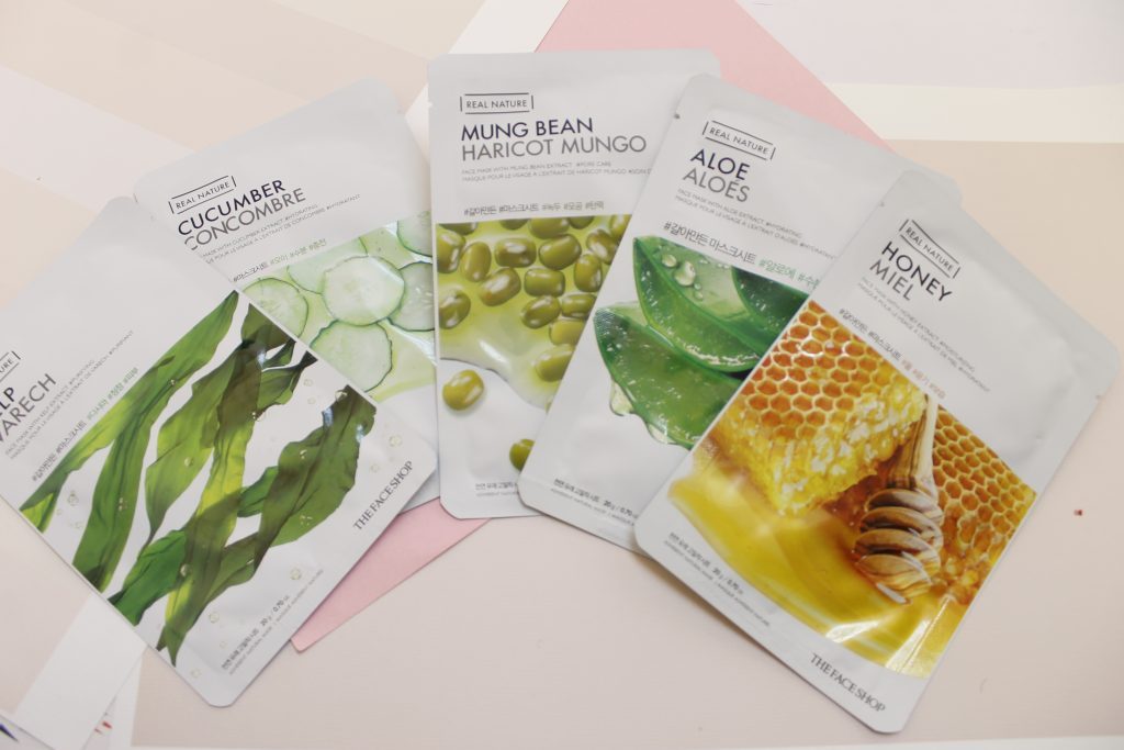 Mặt nạ The Face Shop Real Nature Sheet Mask.