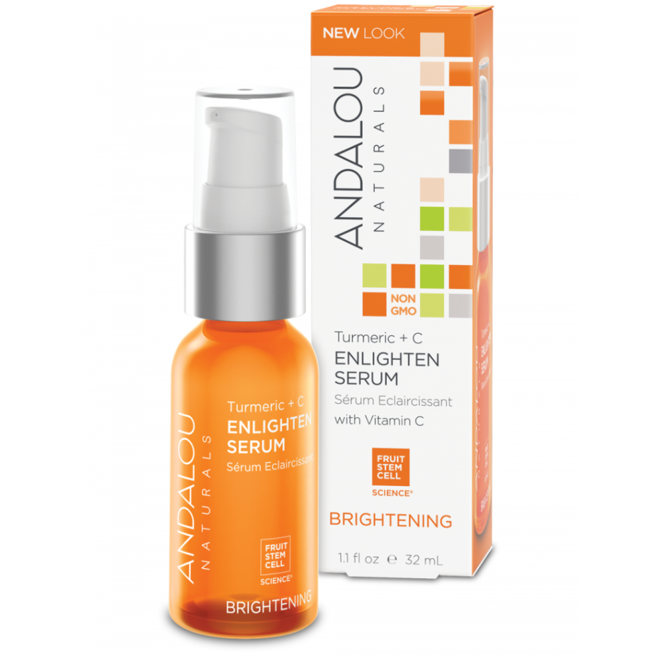 Andalou Turmeric + C Enlighten Serum